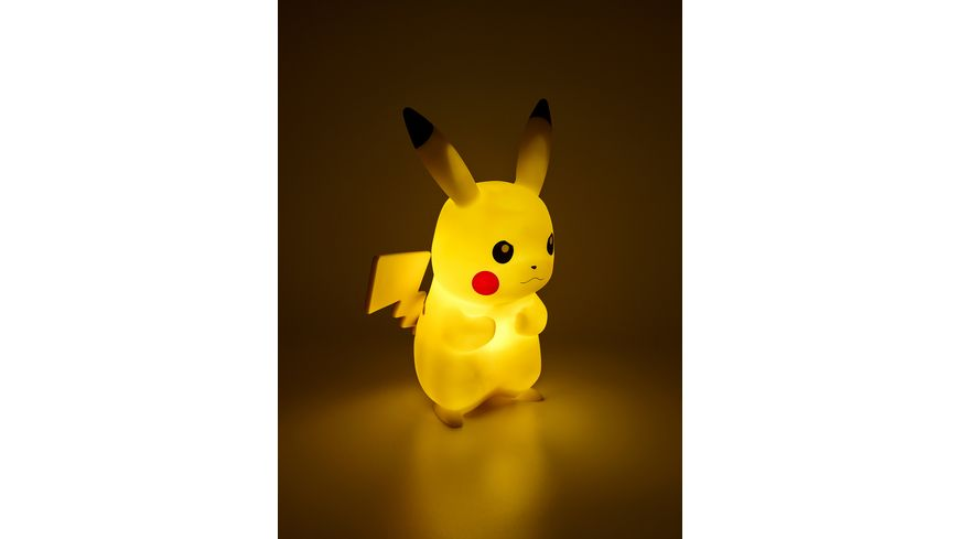 POKEMON LED Lampe Pikachu 25 cm mit Fernbedienung