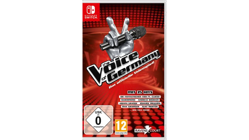 The Voice of Germany Das offizielle Videospiel
