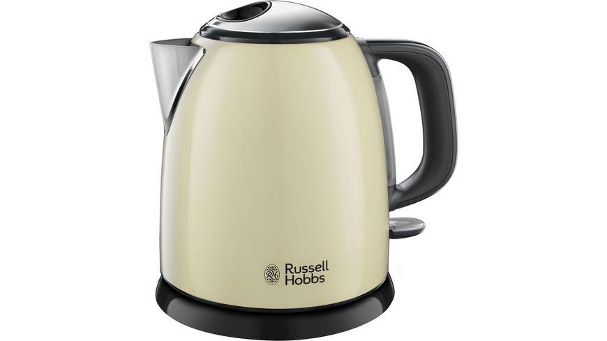 Russell Hobbs Wasserkocher Mini Colours Plus+ 24994-70 Classic Cream