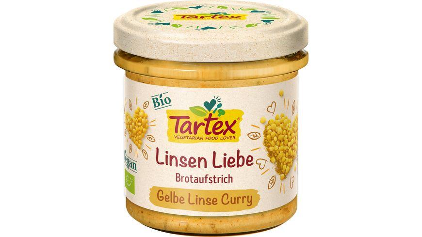 Tartex Linsen Liebe Gelbe Linse Curry