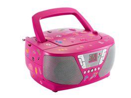 BIGBEN Tragbares CD Radio CD60 Kids pink