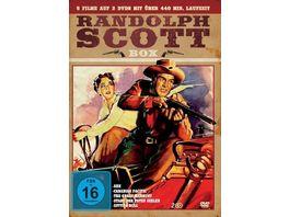 Randoph Scott Box 2 DVDs