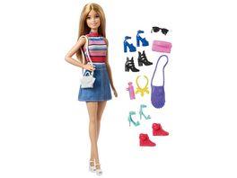 Mattel Barbie Barbie Puppe und Schuhe