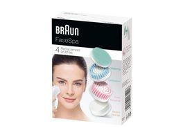 Braun Face Aufsatz Mix SE80mv 4er
