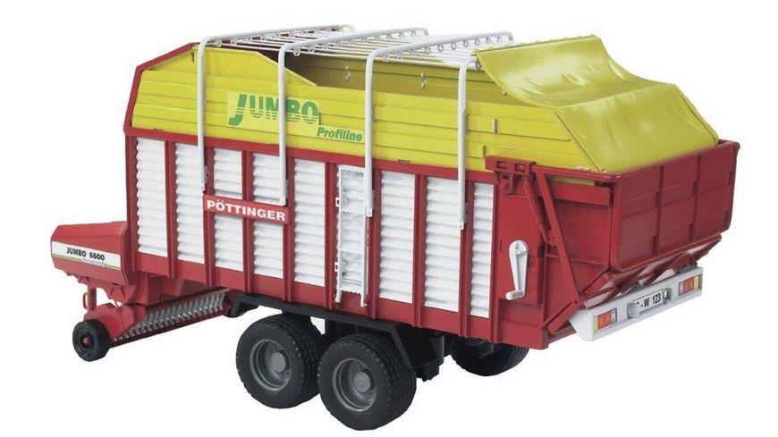 BRUDER - Pottinger Jumbo 6600 Profiline 02214