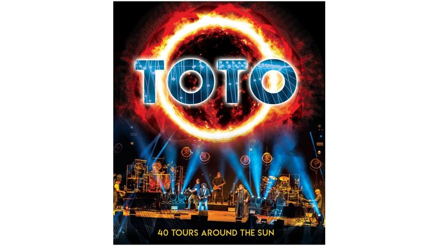 40 Tours Around The Sun Blu Ray