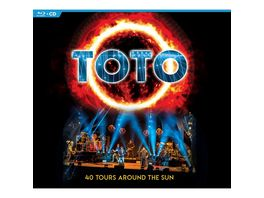 40 Tours Around The Sun 2CD Blu Ray