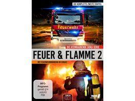 Feuer Flamme Mit Feuerwehrmaennern im Einsatz Staffel 2 3 DVDs