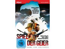 Spiel der Geier Game for Vultures Spannender Abenteuerfilm mit absoluter Starbesetzung Pidax Film Klassiker