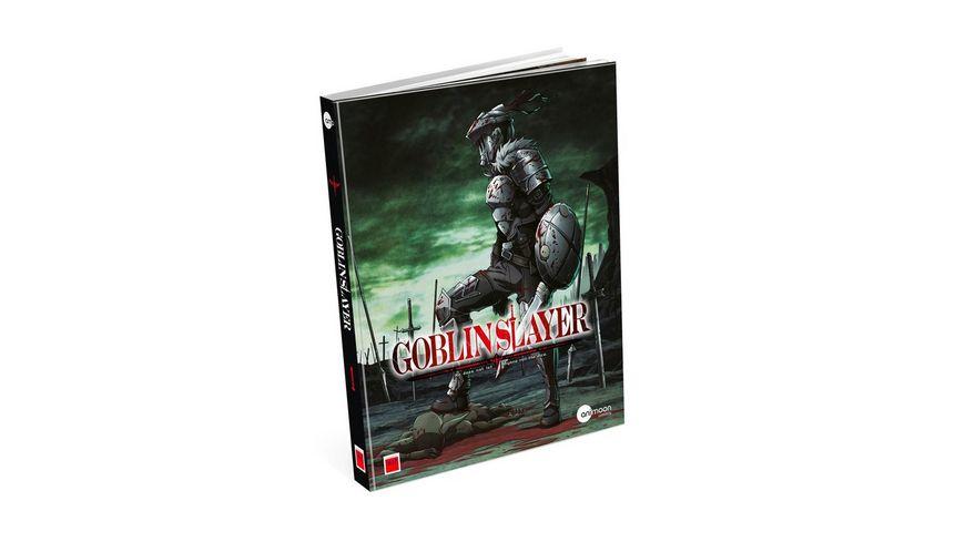 Goblin Slayer Vol 1 Limited Mediabook inkl Sammelschuber Booklet Miniaufsteller Dog Tag