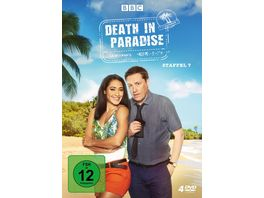 Death in Paradise Staffel 7 4 DVDs