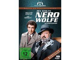 Nero Wolfe Gesamtedition Alle 14 Folgen plus Pilotfilm Fernsehjuwelen 4 DVDs