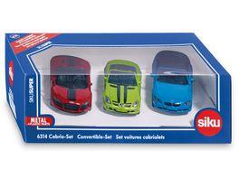 SIKU 6314 Super Cabrio Set