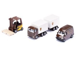 SIKU 6324 Super UPS Logistik Set