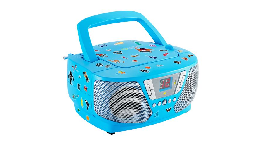 Tragbares CD Radio CD60 Kids blue