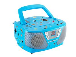 BIGBENTragbares CD Radio CD60 Kids blue