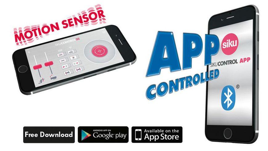 SIKU 6796 Control 32 Fendt 933 Vario mit Frontlader und Bluetooth Fernsteuermodul