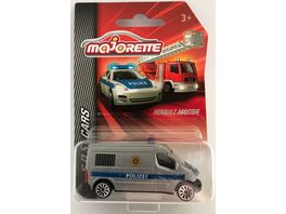 Majorette SOS Cars Renault Master Polizei