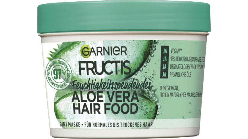 GARNIER FRUCTIS Aloe Vera Hairfood 3in1 Maske