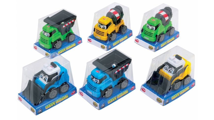 Dickie Toys Happy Series Happy Builder 1 Stueck sortiert