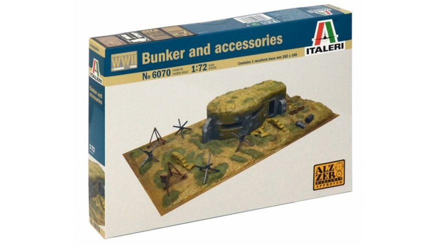 Italeri 510006070 1 72 WWII Zubehoerteile und Bunker