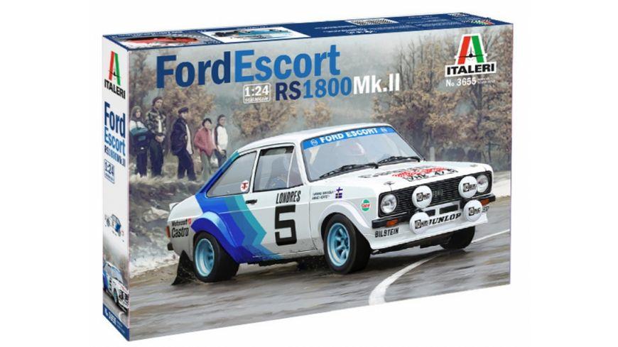 Italeri 510003655 1 24 Ford Escort Mk II