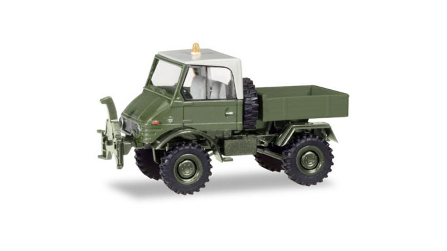 Herpa 746496 Unimog U 421 Pritsche Standortverwaltung der Bundeswehr In Kooperation mit Brekina