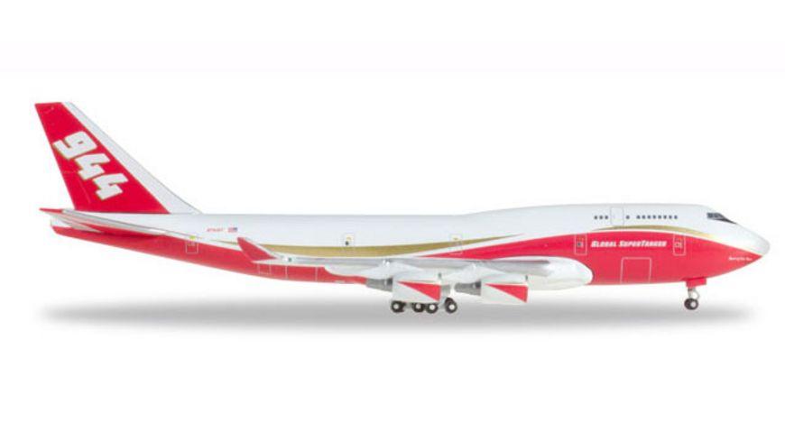 Herpa 531955 Wings Global Supertanker Services Boeing 747 400 Supertanker