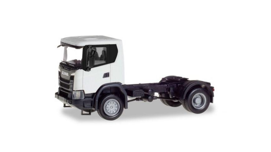 Herpa 309769 Scania CG 17 4x4 Zugmaschine weiss