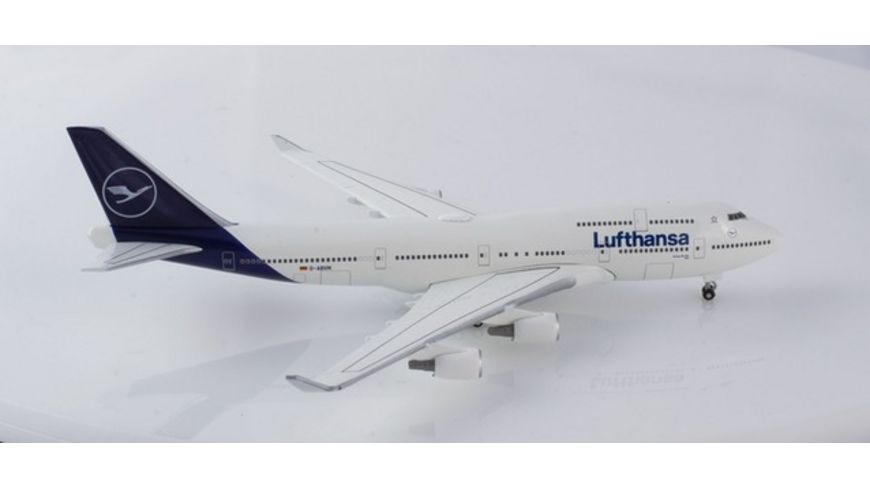 Herpa 532761 Wings Lufthansa Boeing 747 400 new 2018 colors