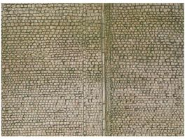 Faller H0 170601 Mauerplatte Pflaster
