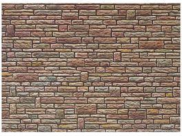 Faller H0 170604 Mauerplatte Sandstein gruen gelb braun