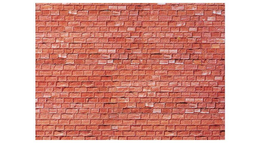 Faller 170613 H0 170613 Mauerplatte Sandstein rot