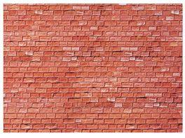 Faller H0 170613 Mauerplatte Sandstein rot