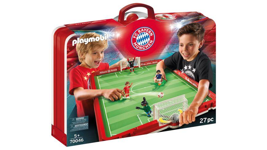 PLAYMOBIL 70046 FC Bayern Muenchen Fussballarena zum Mitnehmen
