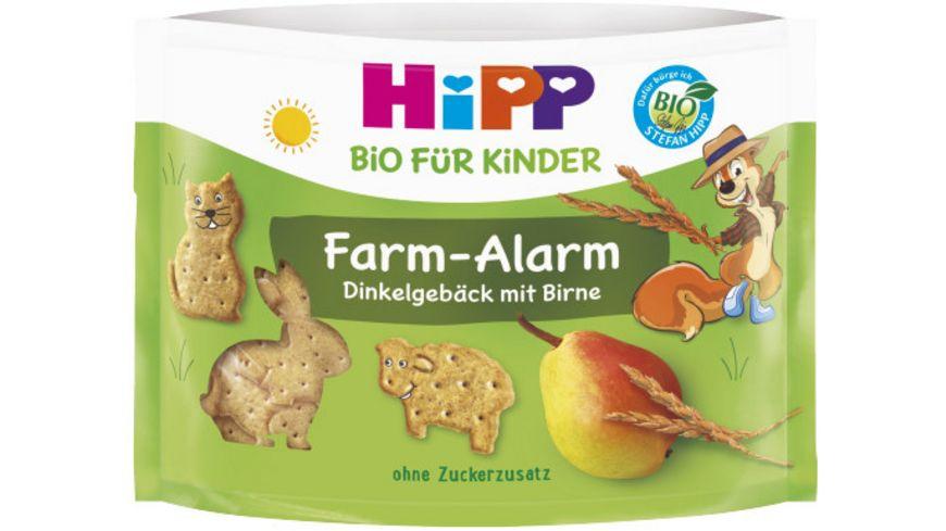 HiPP Bio Fram Alarm Dinkelgebaeck mit Birne