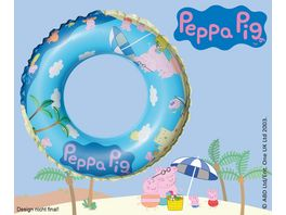 Happy People Peppa Pig Schwimmring