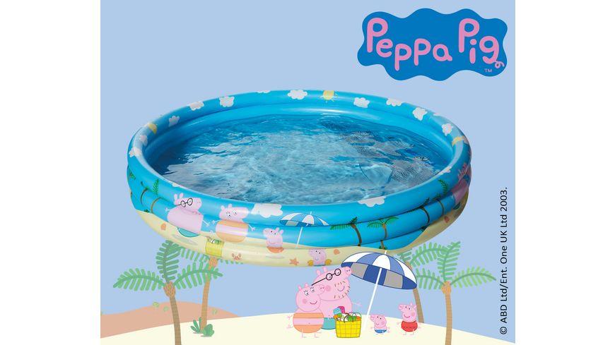 Happy People Peppa Pig 3 Ring Pool