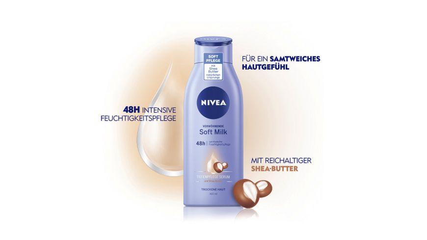NIVEA Body Soft Milk
