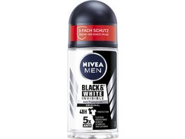 NIVEA MEN Deo Roll On Invisible for Black White Original Anti Transpirant
