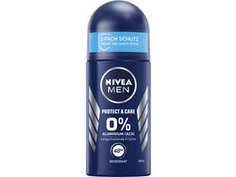 NIVEA Men Deo Roll On Protect Care 50 Ml