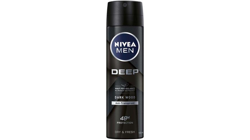 NIVEA MEN Deo Spray Deep Dry Clean Anti Transpirant