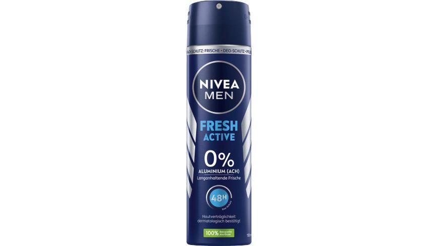NIVEA MEN Deo Spray Fresh Active