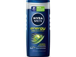 NIVEA PFLEGEDUSCHE MEN ENERGY 250 ML