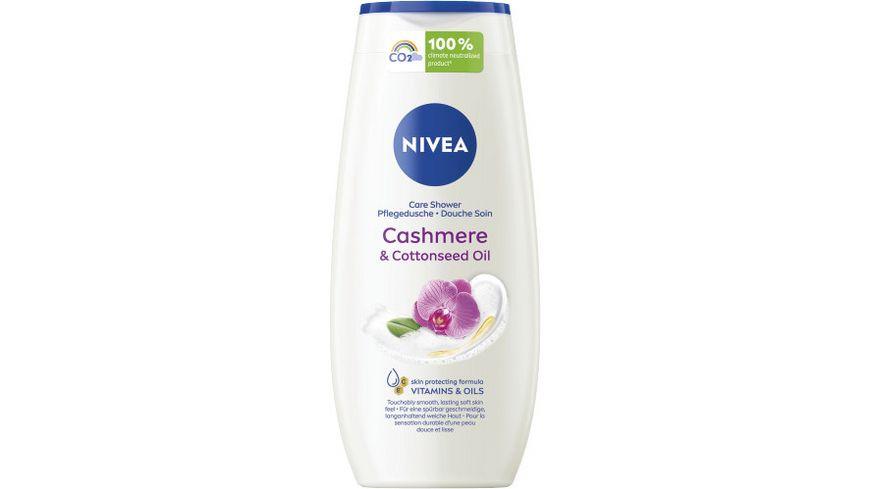 NIVEA PFLEGEDUSCHE CARE + CASHMERE 250ML