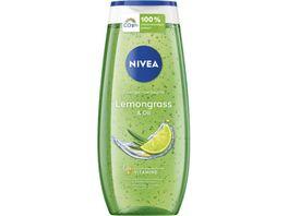 NIVEA Pflegedusche Lemongras Oil