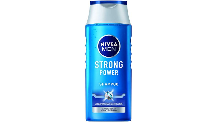 NIVEA MEN Pflegeshampoo Strong Power