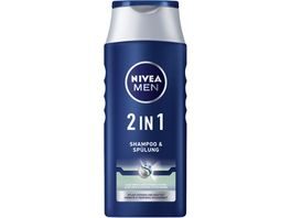 NIVEA MEN 2in1 Shampoo Spuelung Protect Care