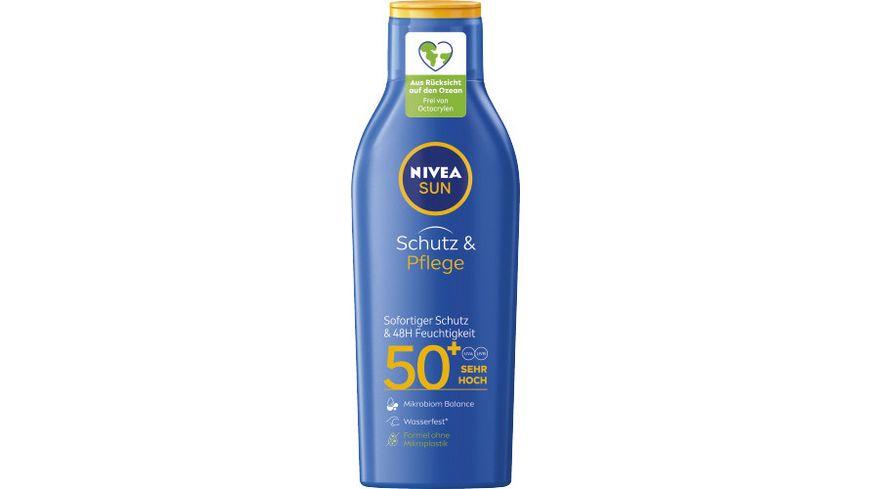 NIVEA sun Schutz Pflege Sonnenmilch LSF50