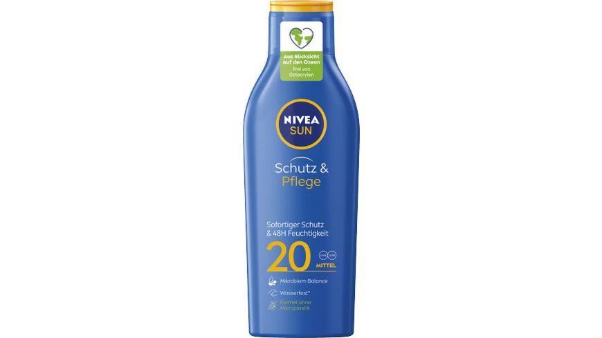 NIVEA sun Schutz Pflege Sonnenmilch LSF20